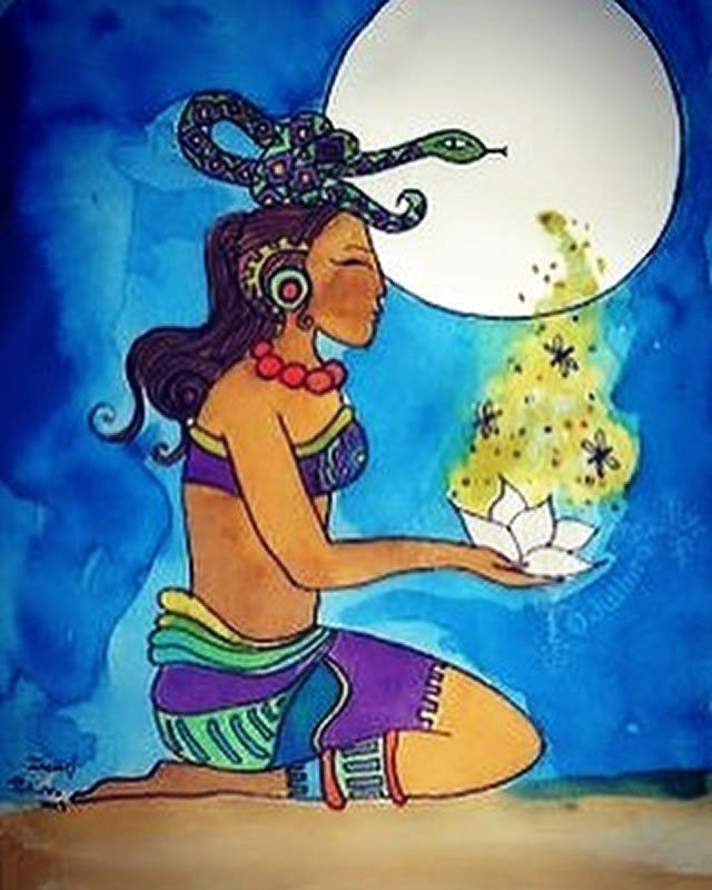 Deusas Divinas - Deusa Ixchel